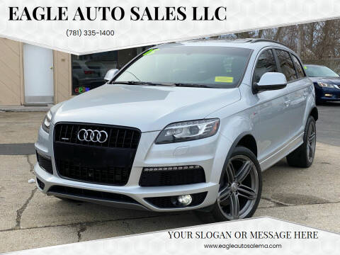 2015 Audi Q7 for sale at Eagle Auto Sales LLC in Holbrook MA