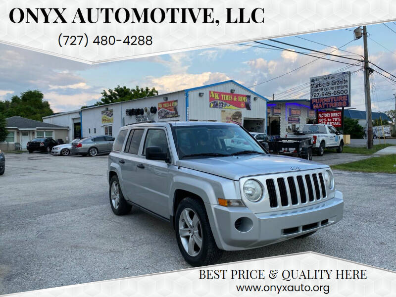 2009 Jeep Patriot for sale at ONYX AUTOMOTIVE, LLC in Largo FL