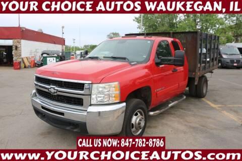 2007 Chevrolet Silverado 3500HD CC for sale at Your Choice Autos - Waukegan in Waukegan IL