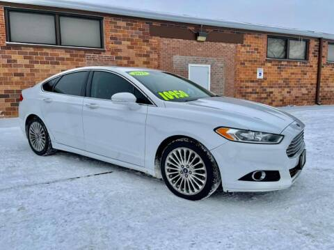2015 Ford Fusion for sale at Island Auto Express in Grand Island NE