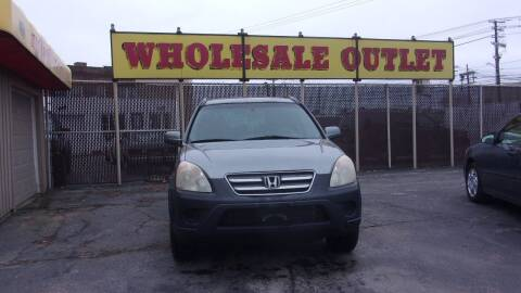2006 Honda CR-V for sale at LONG BROTHERS CAR COMPANY in Cleveland OH