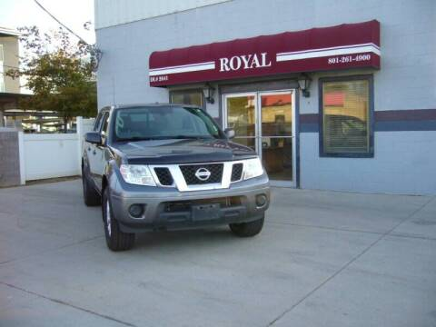 2018 Nissan Frontier for sale at Royal Auto Inc in Murray UT