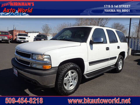 2004 Chevrolet Tahoe for sale at Bruce Kirkham Auto World in Yakima WA