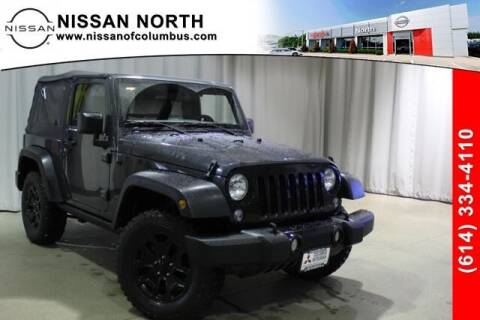 2018 Jeep Wrangler JK for sale at Auto Center of Columbus in Columbus OH