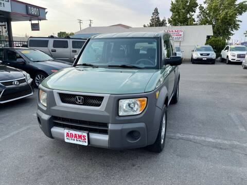 2004 Honda Element for sale at Adams Auto Sales in Sacramento CA