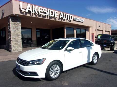 2018 Volkswagen Passat for sale at Lakeside Auto Brokers in Colorado Springs CO
