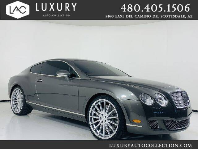 2009 Bentley Continental for sale at Luxury Auto Collection in Scottsdale AZ