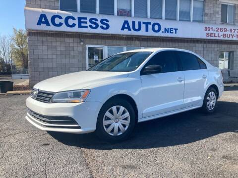 2016 Volkswagen Jetta for sale at Access Auto in Salt Lake City UT
