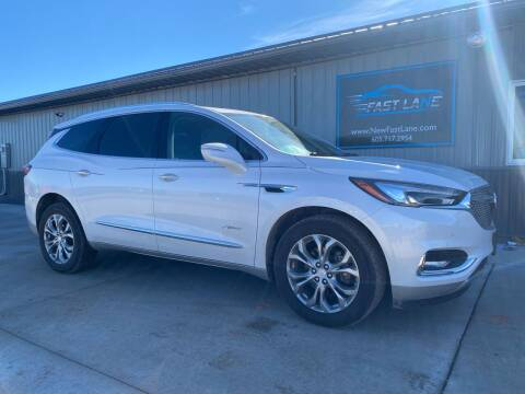2018 Buick Enclave for sale at FAST LANE AUTOS in Spearfish SD