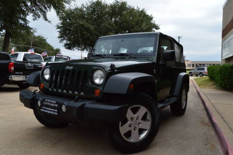 2011 Jeep Wrangler for sale at E-Auto Groups in Dallas TX