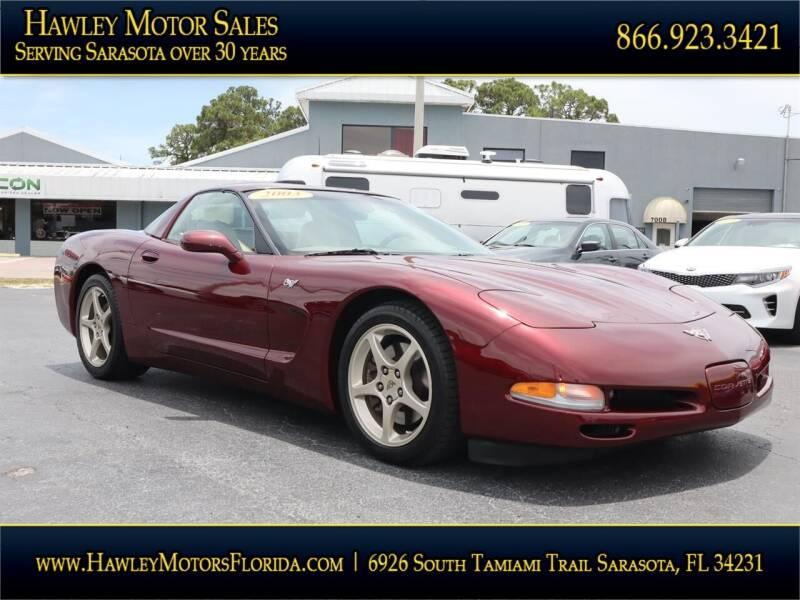 2003 Chevrolet Corvette for sale at Hawley Motor Sales in Sarasota FL