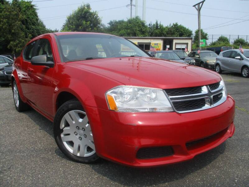 2012 Dodge Avenger for sale at Unlimited Auto Sales Inc. in Mount Sinai NY