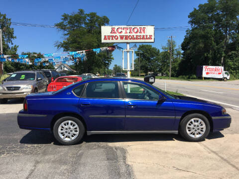 2005 Chevrolet Impala for sale at Action Auto Wholesale in Painesville OH