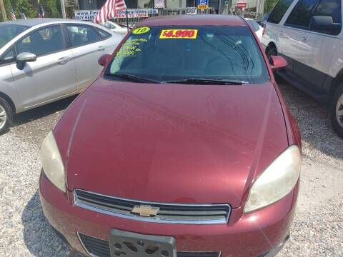 2010 Chevrolet Impala for sale at Finish Line Auto LLC in Luling LA