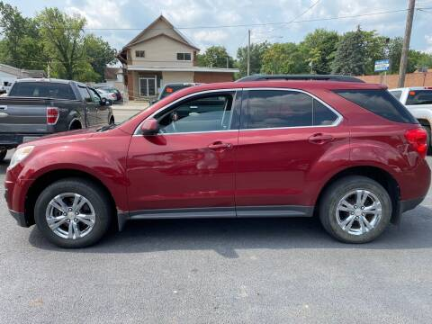 2011 Chevrolet Equinox for sale at E & A Auto Sales in Warren OH