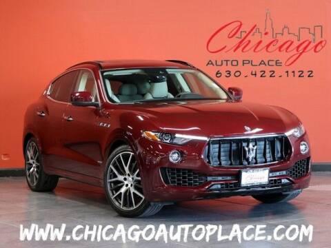 2018 Maserati Levante for sale at Chicago Auto Place in Bensenville IL