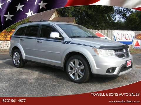 2012 Dodge Journey for sale at Towell & Sons Auto Sales in Manila AR