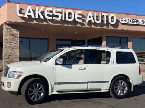 2010 Infiniti QX56 for sale at Lakeside Auto Brokers in Colorado Springs CO
