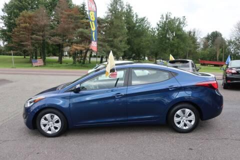 2016 Hyundai Elantra for sale at GEG Automotive in Gilbertsville PA
