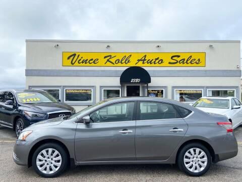 2015 Nissan Sentra for sale at Vince Kolb Auto Sales in Lake Ozark MO