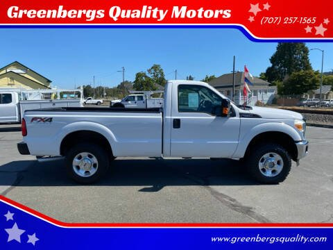 2011 Ford F-250 Super Duty for sale at Greenbergs Quality Motors in Napa CA