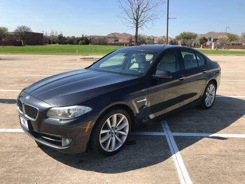 2012 BMW 5 Series for sale at Z AUTO MART in Lewisville TX