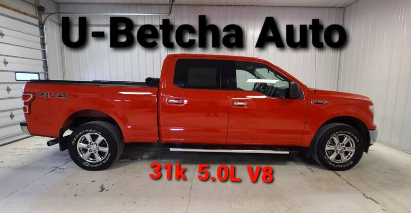 2018 Ford F-150 for sale at Ubetcha Auto in St. Paul NE