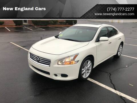 2014 Nissan Maxima for sale at New England Cars in Attleboro MA