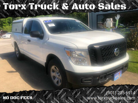 2017 Nissan Titan for sale at Torx Truck & Auto Sales in Eads TN