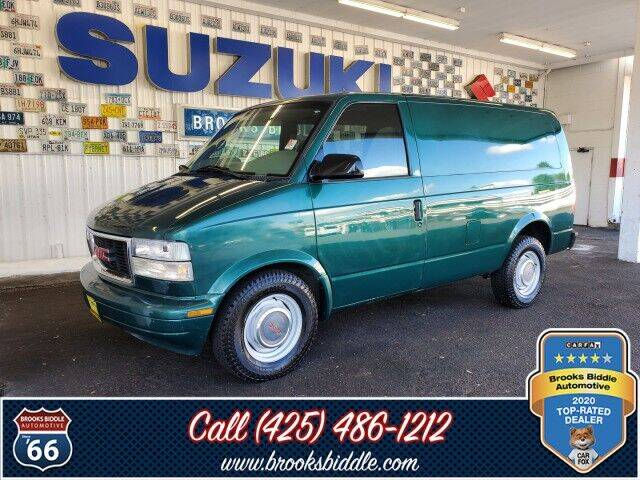 1998 GMC Safari Cargo for sale at BROOKS BIDDLE AUTOMOTIVE in Bothell WA