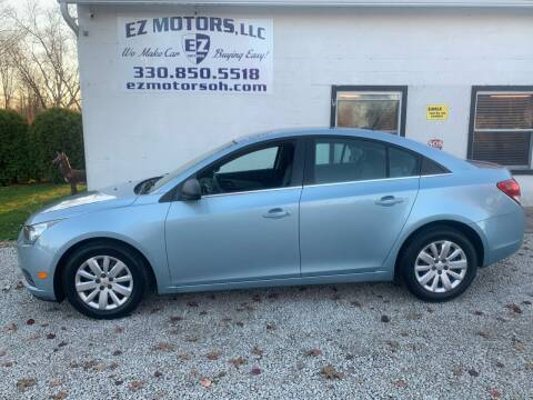 2011 Chevrolet Cruze for sale at EZ Motors in Deerfield OH