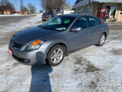 2008 Nissan Altima for sale at GREENFIELD AUTO SALES in Greenfield IA