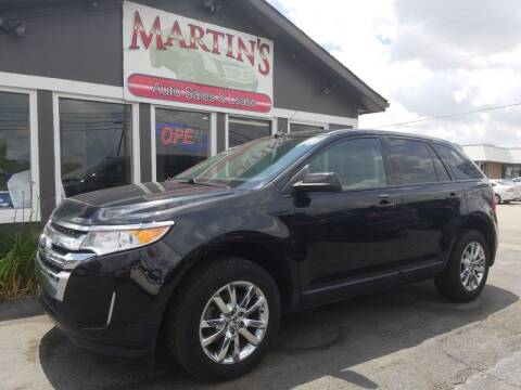 2013 Ford Edge for sale at Martins Auto Sales in Shelbyville KY