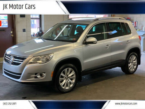 2009 Volkswagen Tiguan for sale at JK Motor Cars in Pittsburgh PA