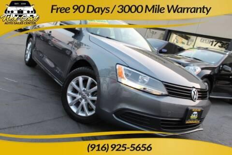 2012 Volkswagen Jetta for sale at West Coast Auto Sales Center in Sacramento CA