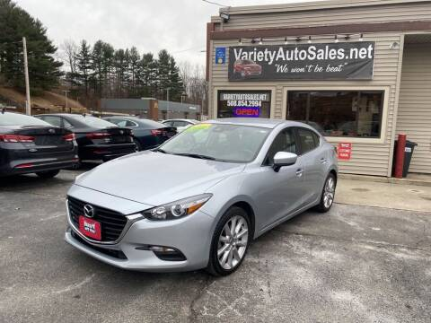 2017 Mazda MAZDA3 for sale at Variety Auto Sales in Worcester MA