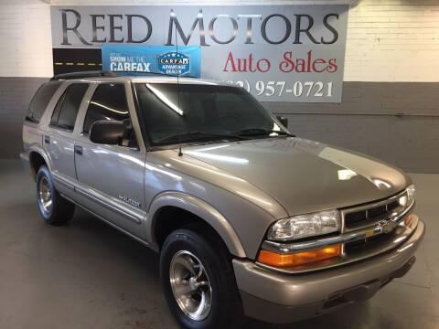 2004 Chevrolet Blazer for sale at REED MOTORS LLC in Phoenix AZ