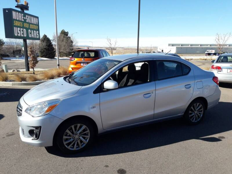 2019 Mitsubishi Mirage G4 for sale at More-Skinny Used Cars in Pueblo CO