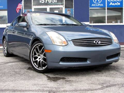 2005 Infiniti G35 for sale at Orlando Auto Connect in Orlando FL