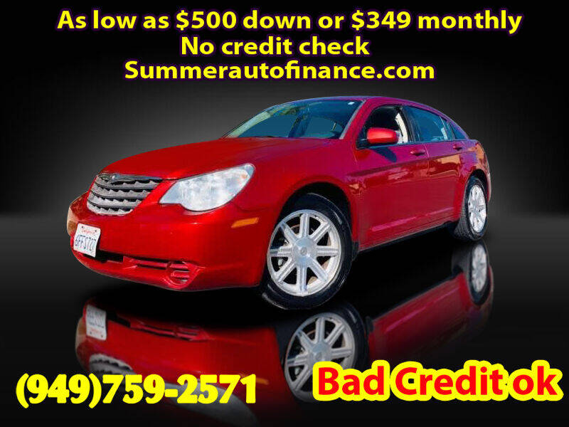 2007 Chrysler Sebring for sale at SUMMER AUTO FINANCE in Costa Mesa CA
