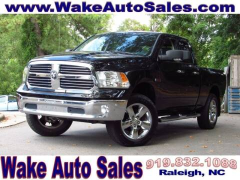 2015 RAM Ram Pickup 1500 for sale at Wake Auto Sales Inc in Raleigh NC
