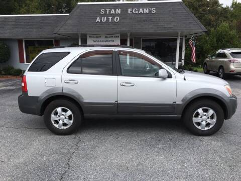 2008 Kia Sorento for sale at STAN EGAN'S AUTO WORLD, INC. in Greer SC