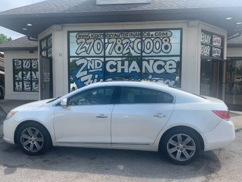2010 Buick LaCrosse for sale at Kentucky Auto Sales & Finance in Bowling Green KY