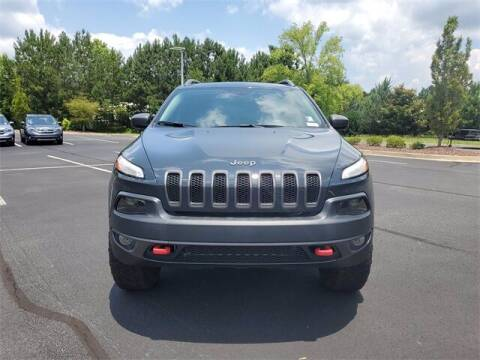 2017 Jeep Cherokee for sale at Southern Auto Solutions - Lou Sobh Honda in Marietta GA