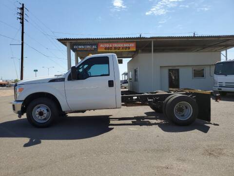 2016 Ford F-350 Super Duty for sale at AZ WORK TRUCKS AND VANS in Mesa AZ