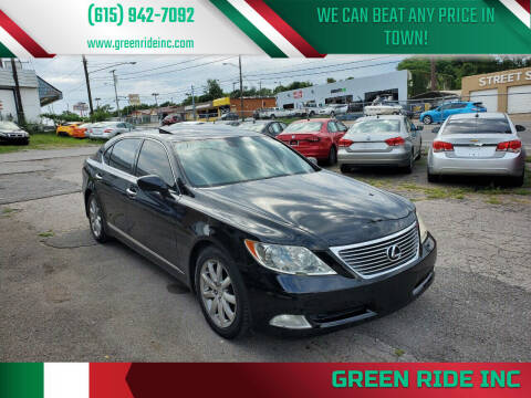 2009 Lexus LS 460 for sale at Green Ride Inc in Nashville TN