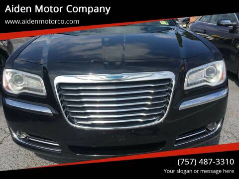 2012 Chrysler 300 for sale at Aiden Motor Company in Portsmouth VA