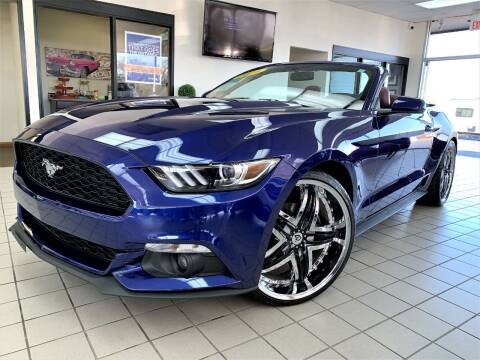 2016 Ford Mustang for sale at SAINT CHARLES MOTORCARS in Saint Charles IL