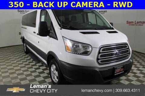 2018 Ford Transit Passenger for sale at Leman's Chevy City in Bloomington IL