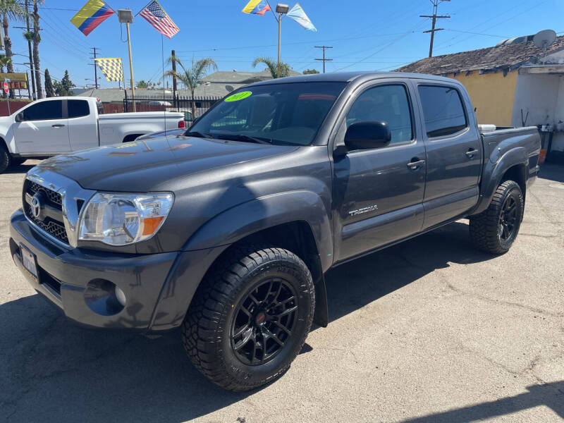2011 Toyota Tacoma for sale at JR'S AUTO SALES in Pacoima CA